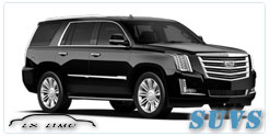SUV for hire in Lxlimo