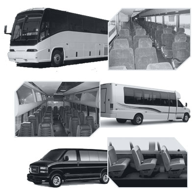 Lxlimo Coach Bus rental