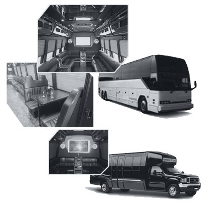 Party Bus rental and Limobus rental in Lxlimo
